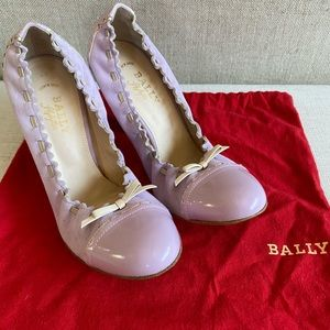 Bally lavender Styleflex pumps